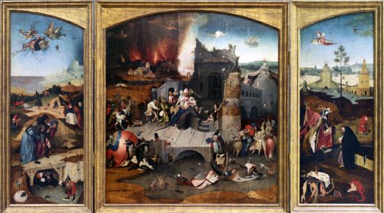 Bosch la tentation de st antoine