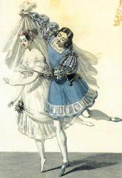 Costume de m t et de mazilier dans la fille du danube