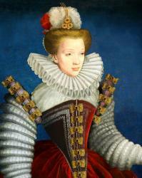Costume feminin 1580