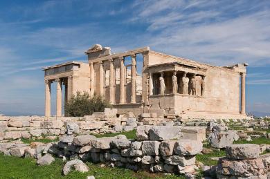 Erechtheion acropolis athens photo jebulon