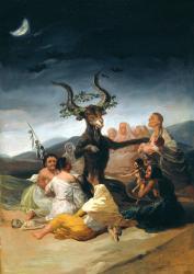 Goya le sabbat des sorcieres 2