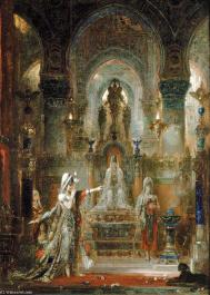 Gustave moreau salome dancing before herod