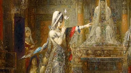 Gustave moreau salome dansant devant herode