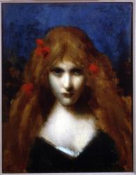 Henner j j 1893 portrait de melle dodey musee j j henner paris