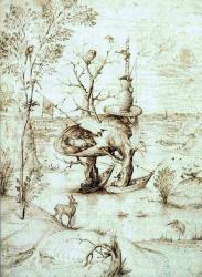 Homme arbre bosch 1