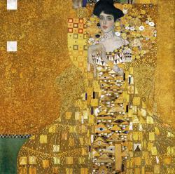 Klimt portrait d adele bloch bauer 1907