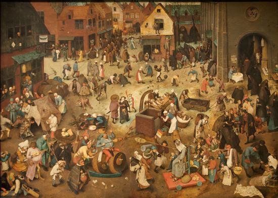 Le combat de carnaval et de careme pieter brueghel l ancien