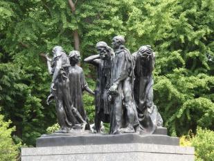 Rodin les six bourgeois de calais