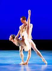 Stars of american ballet diamonds